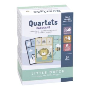 Little Dutch Kartenspiel Quartett Tiere