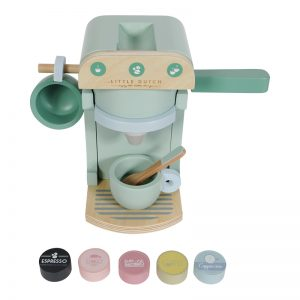 "Kaffeemaschine Holz Mint - ""Little Dutch"""
