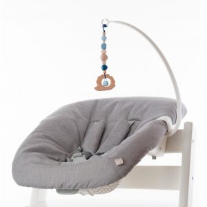 Newborn Set Mobile Herbst Blau