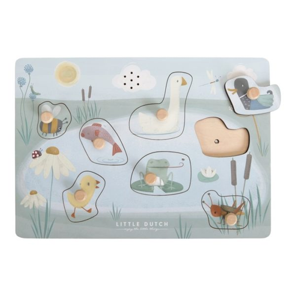 Little Dutch Sound Greif Puzzle Tiere