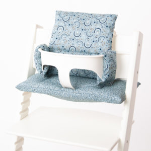 Dusty Mint Flowers_Stokke Kissen_Babyrella