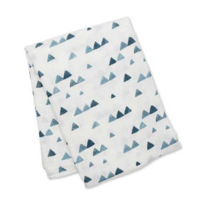 Lulujo Mulltuch Navy Triangles