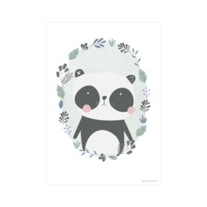 Little Dutch Poster Panda Mint