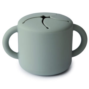Mushie Snack Cup Cambridge Blue