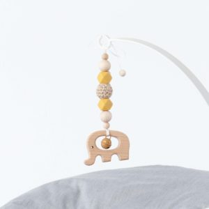 Newborn Set Mobile Mustard