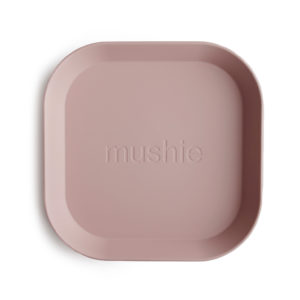 Mushie Teller Set Square Blush