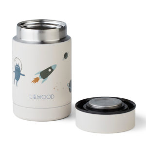 Liewood Thermo Lunchbox Nadja Space Sandy Mix