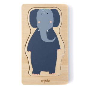 Trixie Holzpuzzle 4-lagig Tiere