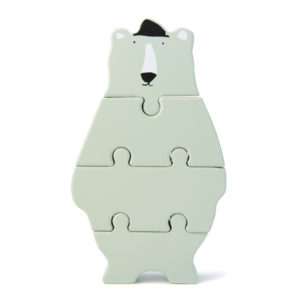 Trixie Holzpuzzle in Tierform Mr. Polar Bear