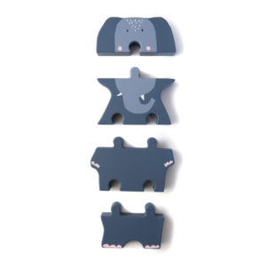 Trixie Holzpuzzle in Tierform Mrs. Elephant