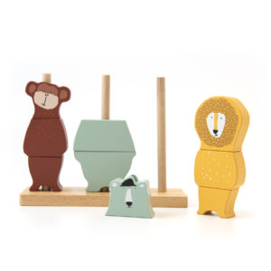 Trixie Stapel Puzzle Tiere Holz